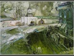 Ильинские ворота. Москва сто лет назад.