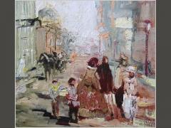 Гагаринский переулок. Москва сто лет назад.