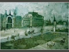 Брестский вокзал. Москва сто лет назад.