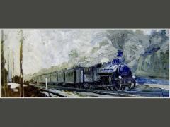 Пассажирский поезд. Москва сто лет назад