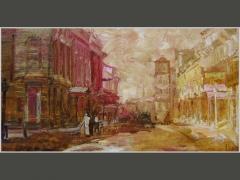 Улица Ильинка. Москва сто лет назад.