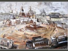 Никольские ворота. Москва сто лет назад.