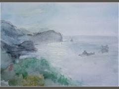 Вид на море / View on the sea